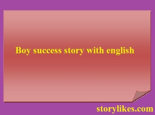 story with english